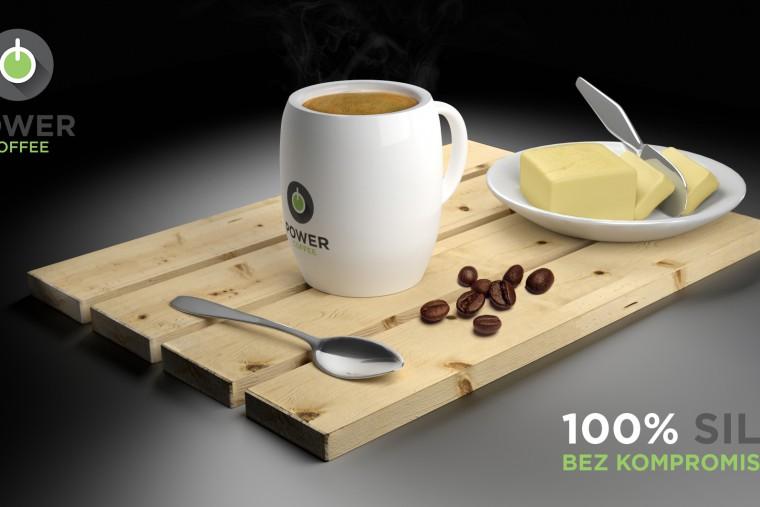 Power Coffee 3D scene