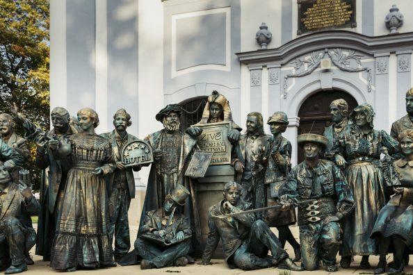 Živé sochy festival